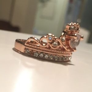 Jewelry - Rose gold princess ring